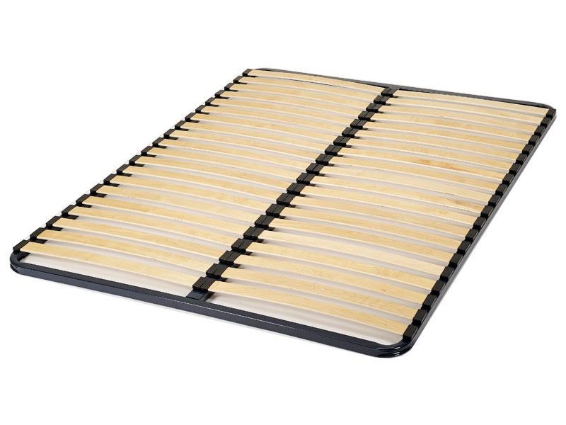 sommier cadre pliable 20 lattes 53 mm. Black Bedroom Furniture Sets. Home Design Ideas