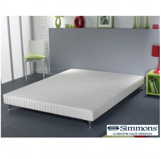 sommier 200x200 good ensemble matelas latex sommier blanc. Black Bedroom Furniture Sets. Home Design Ideas