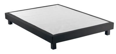 Catégorie Meubles Page Du Guide Et Comparateur Dachat - Lit adulte 140x190 cm gaby coloris noir