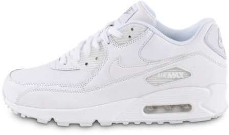 competitive price e3968 26b07 Homme Air Max 90 Leather Blanche