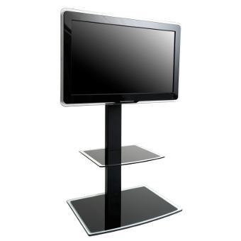 erard 035061 studio1000 meuble colonne 30 50 noir. Black Bedroom Furniture Sets. Home Design Ideas