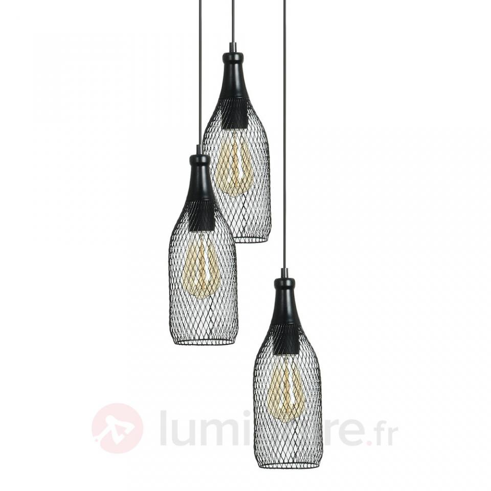 Catgorie suspension page 4 du guide et comparateur d 39 achat for Suspension 3 lampes
