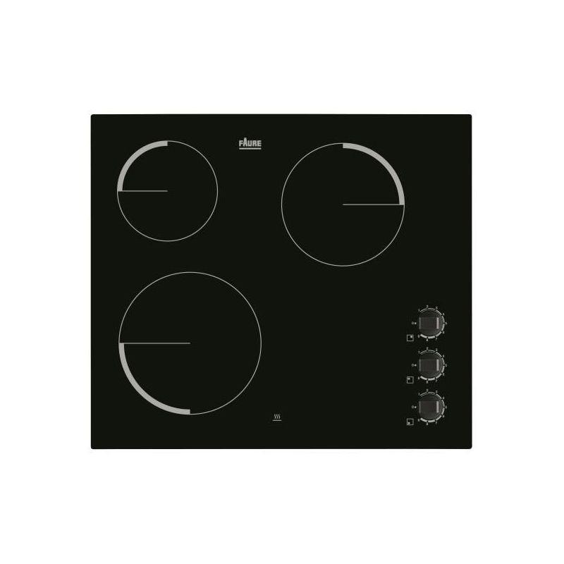 plaque vitroceramique faure fev6131fba. Black Bedroom Furniture Sets. Home Design Ideas