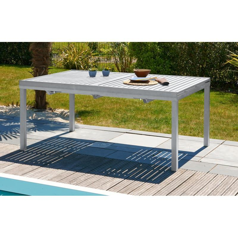 Catgorie table de jardin page 16 du guide et comparateur d for Table extensible allure gris poivre graphite
