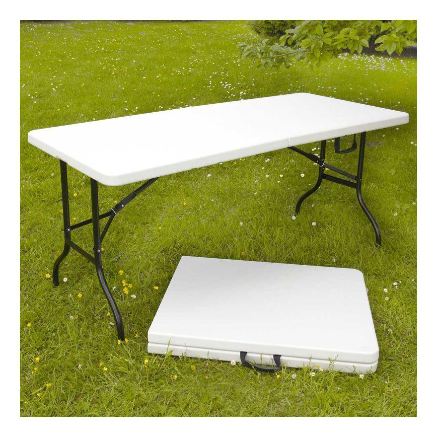 table pliante 200cm 10 places monobloc mobeventpro. Black Bedroom Furniture Sets. Home Design Ideas
