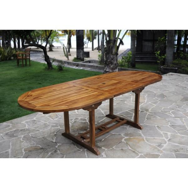 Catgorie table de jardin du guide et comparateur d 39 achat for Table cuisine teck