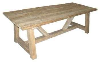 table rectangulaire en vieux