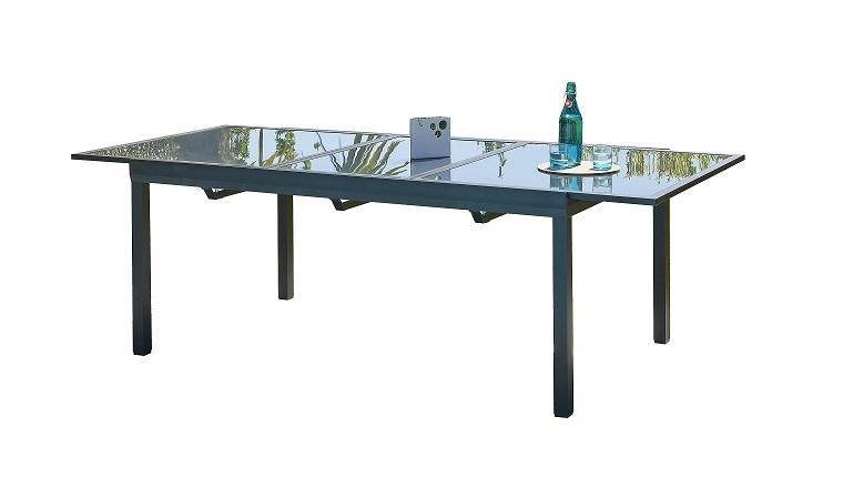 Emejing table de jardin aluminium avec rallonge castorama - Table de jardin aluminium avec rallonge castorama ...