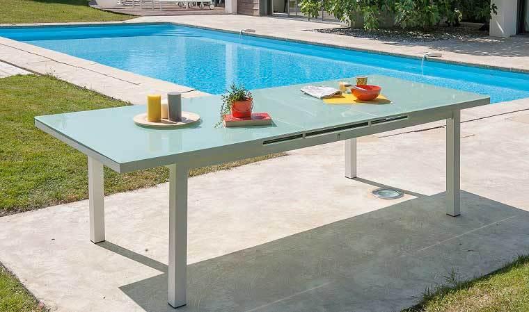 Catgorie table de jardin page 5 du guide et comparateur d - Table de jardin extensible plateau verre ...