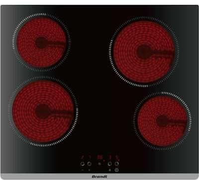 plaque vitroceramique brandt bpv 6420 b. Black Bedroom Furniture Sets. Home Design Ideas