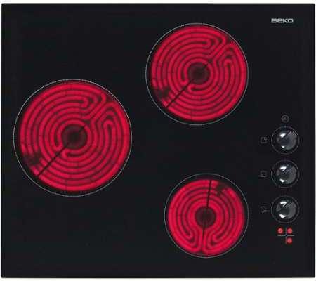 plaque vitroceramique beko hic 63100. Black Bedroom Furniture Sets. Home Design Ideas