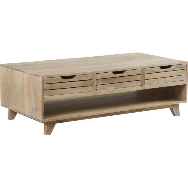 table basse manguier cool table basse en mtal et bois de. Black Bedroom Furniture Sets. Home Design Ideas