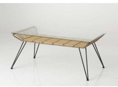 Cat gorie tables basses marque little amadeus page 1 du for Table rotin plateau verre