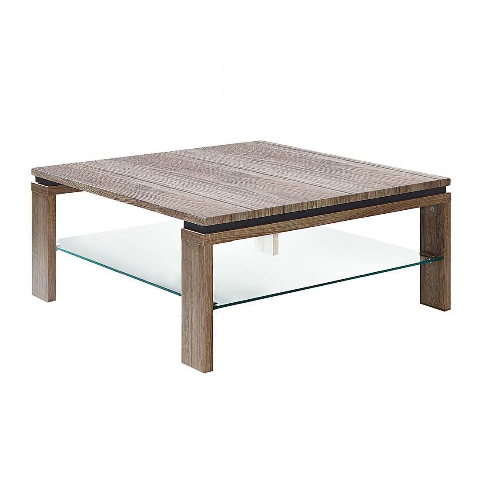 table basse adello imitation ch ne de sonoma mooved. Black Bedroom Furniture Sets. Home Design Ideas