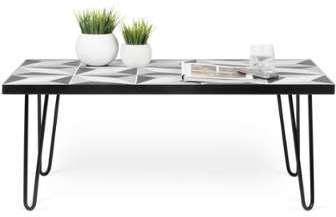 little table basse moderne carreaux bton. Black Bedroom Furniture Sets. Home Design Ideas