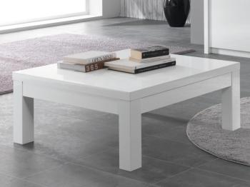 Table basse laque carre - Table carre laque blanc ...