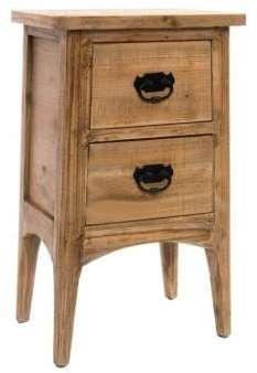 chevet 2 tiroirs pirmin. Black Bedroom Furniture Sets. Home Design Ideas
