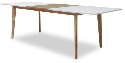 Table d ner edena for Table scandinave avec rallonge