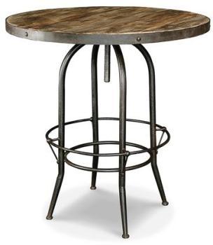 table haute de bar industrielle - Table Bar Industriel