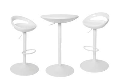 Concept palma mange debout 6 tabourets en rsine tress for Mange debout et tabouret de bar
