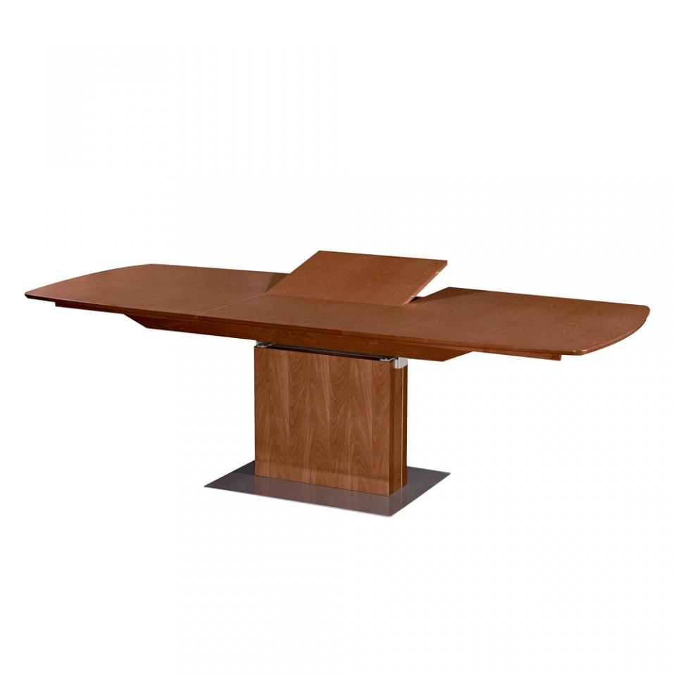 Table extensible bois massif table manger scandinave en for Table bois massif extensible