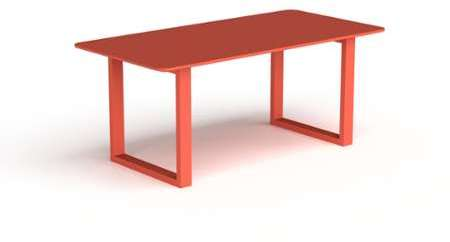 Table Salle Manger Rouge
