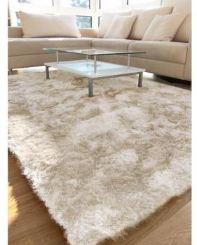 tapis shaggy poils longs swirls marron 80b05b1a43cd