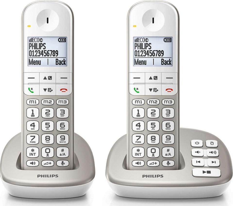 telephone sans fil philips xl 4952 s fr. Black Bedroom Furniture Sets. Home Design Ideas
