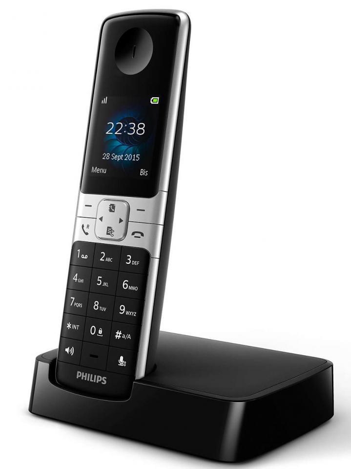 telephone sans fil philips d 6301 b fr. Black Bedroom Furniture Sets. Home Design Ideas
