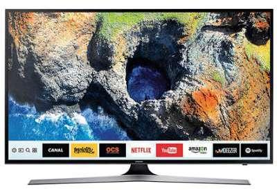 tv led 46 52 pouces samsung tv uhd 49 pouces smart tv 1300 pqi ue49mu6105. Black Bedroom Furniture Sets. Home Design Ideas