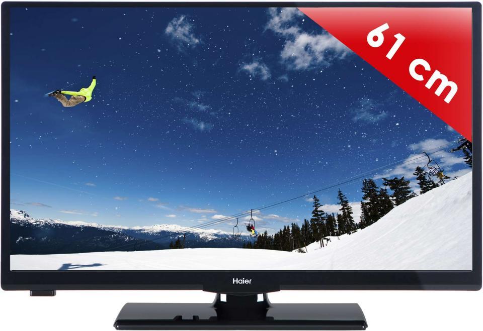 tv led 15 23 pouces haier leh24v100 24 pouces 61 cm. Black Bedroom Furniture Sets. Home Design Ideas