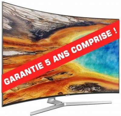 tv led 4k incurv 123 cm samsung ue49mu9005. Black Bedroom Furniture Sets. Home Design Ideas
