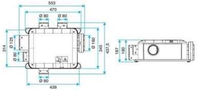 aldes c kit bahia compact mw t3 hygroreglable b. Black Bedroom Furniture Sets. Home Design Ideas