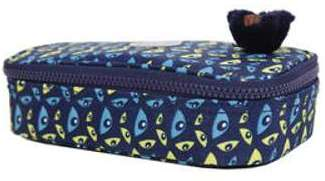 Trousse Kipling 100 Pens Nocturnal Eye bleu
