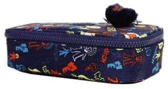Trousse Kipling 50 Pens Blue Tan Block bleu IkXHYLL