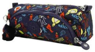 Trousse scolaire Kipling Cute Craft Navy C gris 3lUvWhO2