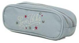 Trousse IKKS Love - 2 compartiments Gris zg6zn7