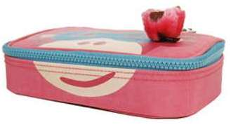 Trousse Kipling 50 Pens Plus Pink Monkey Face rose 9Rl4t8