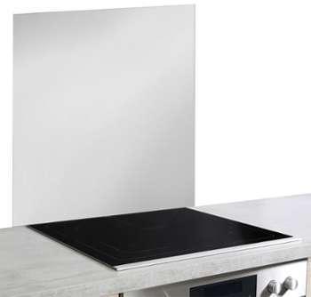 Smeg cr dence pour centre de cuisson 90 cm kit90x inox for Credence verre trempe noir