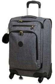 Valise cabine souple Kipling Cyrah BP S - 55 cm Cotton Jeans gris prGYDG