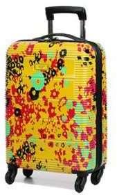 Valise cabine rigide Airtex Comète 54 cm Yellow Flower jaune VXqD84vB