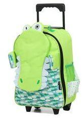 Sac de voyage enfant Déglingos Aligatos l'Alligator 45 cm vert 3PA93fg