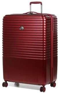 Valise rigide Delsey Caumartin Plus 76 cm Bordeaux rouge Q75hqqP
