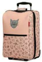 Valise cabine souple Reisenthel Trolley Kids XS 43 cm Cat and dogs rose q7BMB