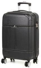 Valise cabine rigide Snowball Smart Case 55 cm Noir