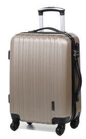 Valise cabine rigide Madisson Manille 54 cm Taupe marron R4DDHm2D9