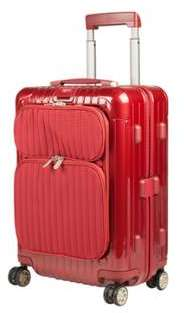 Rimowa Valise cabine rigide 4 roues - 55cm Salsa Deluxe Hybrid Rouge Wmeu6