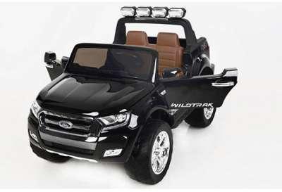 Voiture électrique 2 places 2 x 12V Ford Ranger 2 Noir Métallisé - Pack ... 835c4d85e442